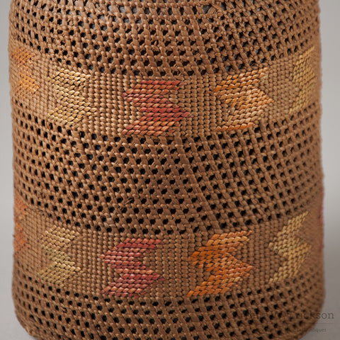Tlingit Basketry Covered Bottle - Arthur W. Erickson - 8
