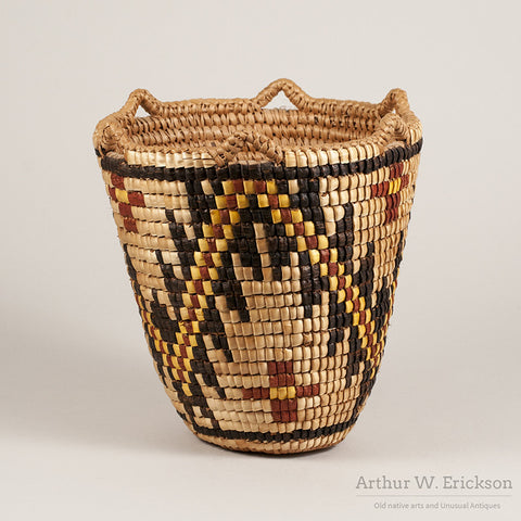 Klickitat Fully-Imbricated Basket by Nettie Jackson Kuneki