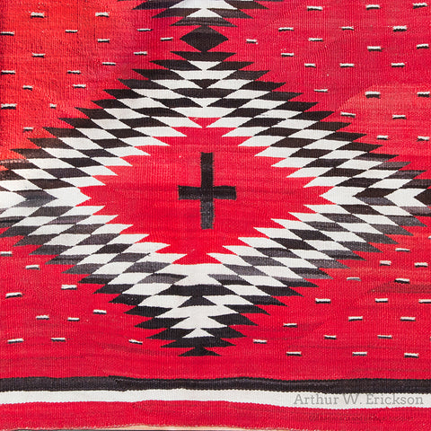 Large Hubble Period Navajo Rug
