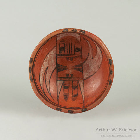 Hopi Sikyatki Revival Redware Small Bowl