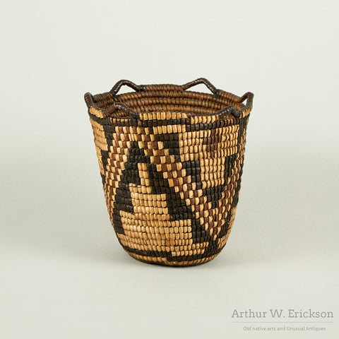 Dynamic Fully Imbricated Klickitat Berry Basket
