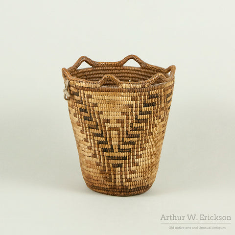Fully Imbricated Klickitat Berry Basket