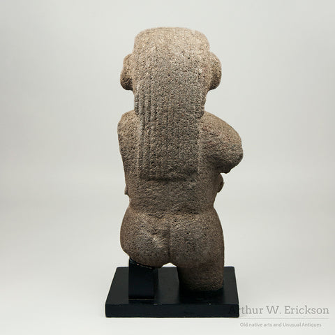 Stone Costa Rican Female Figure