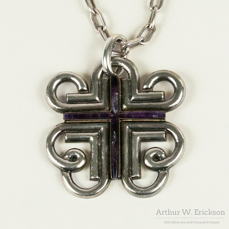 William Spratling Cross Necklace