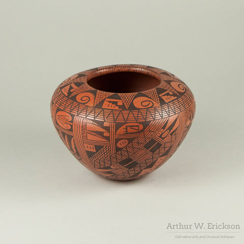 Early Rondina Huma Hopi Pottery Jar