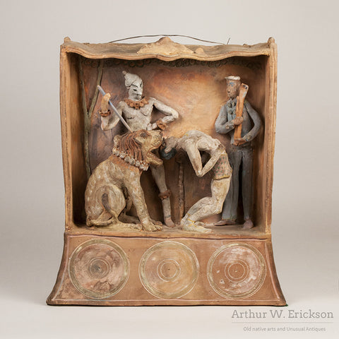 Circus Themed Shadow Box by Carl Walters - Arthur W. Erickson - 2