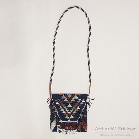 Pit River Loom Beaded Bag