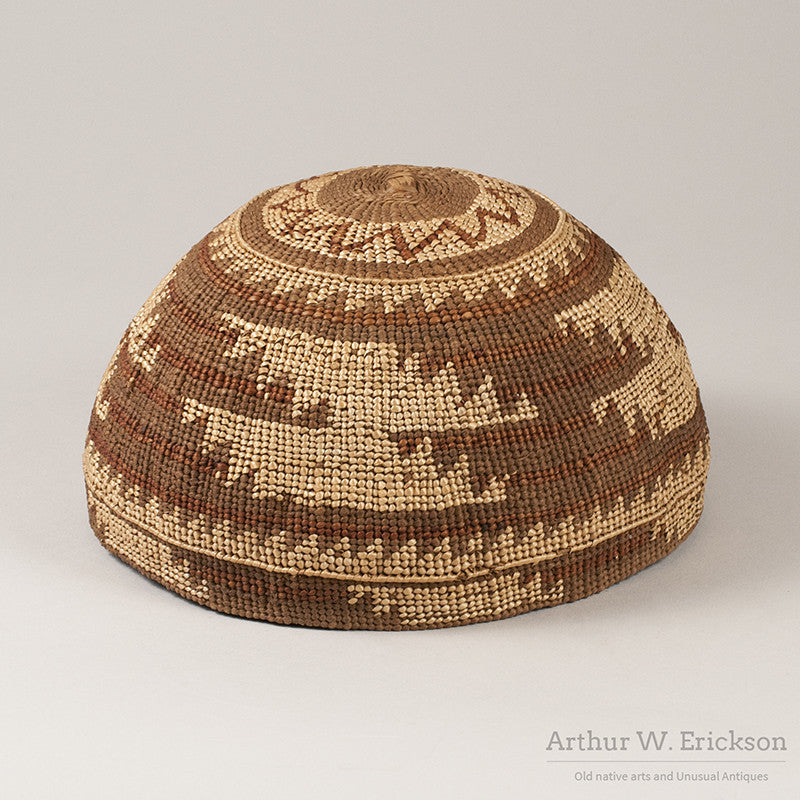 Large Northern California Basketry Hat