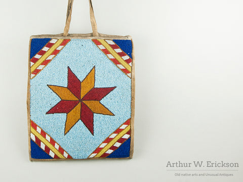 Patriotic Plateau Beaded Star Bag