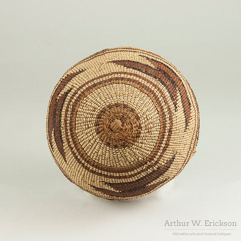 Lower Klamath River Basketry Hat