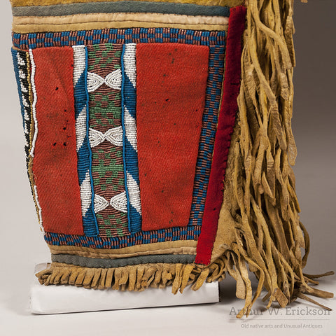 Blackfoot Panel Leggings c. 1870 - Arthur W. Erickson - 4