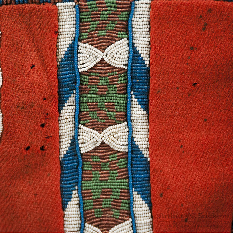 Blackfoot Panel Leggings c. 1870 - Arthur W. Erickson - 5