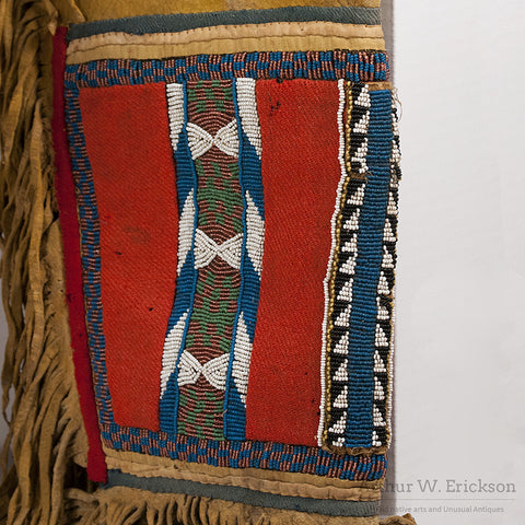 Blackfoot Panel Leggings c. 1870 - Arthur W. Erickson - 6