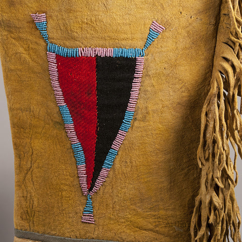 Blackfoot Panel Leggings c. 1870 - Arthur W. Erickson - 7