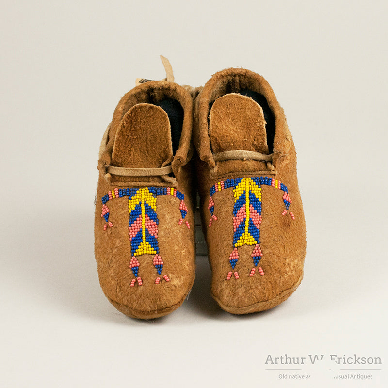 Rocky Boy Child's Moccasins