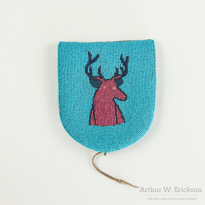 Elk Head Plateau Child's Belt Pouch