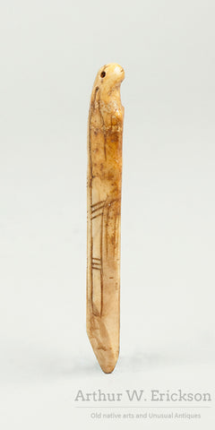 Excavated Walrus Ivory Attachment