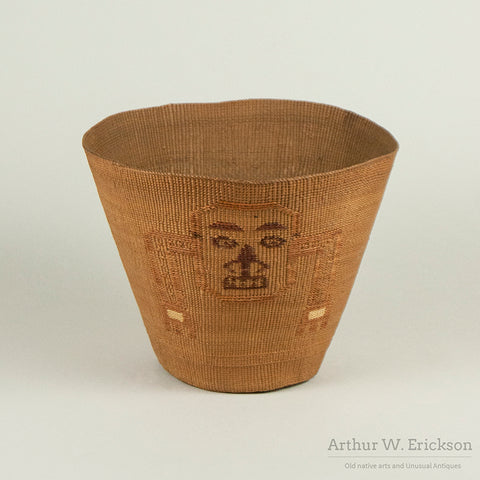 Finely Woven Tlingit Pictorial Basket