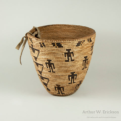 Figural Fully Imbricated Puget Sound Basket