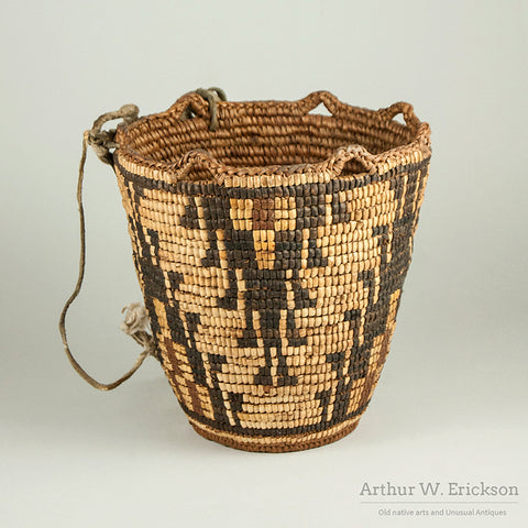 Fully Imbricated Klickitat Basket