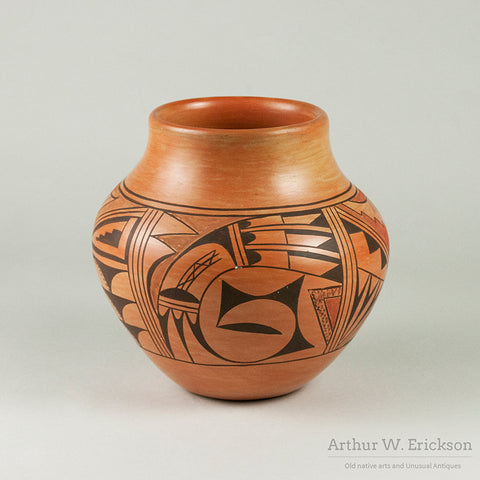 Attractive Unsigned Hopi Jar