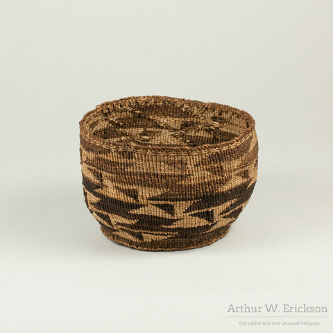 Klamath Basket with Intricate Design