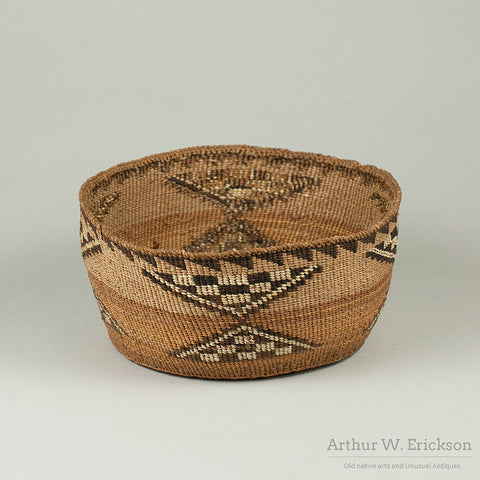 Klamath Quilled Basket