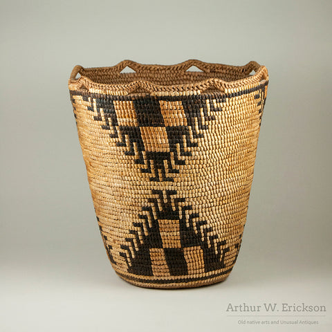 "Large ""Klickitat"" Huckleberry Basket"