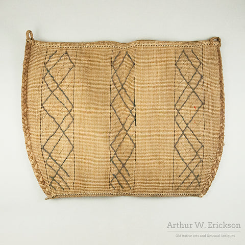 19th Century Washington Coastal Woven Bag