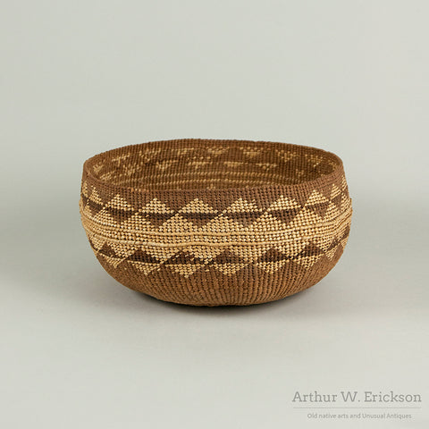Lower Klamath River Mush Basket
