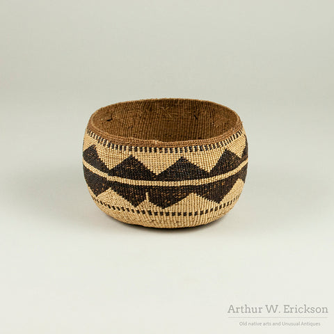Lower Klamath River Basket - Arthur W. Erickson - 1