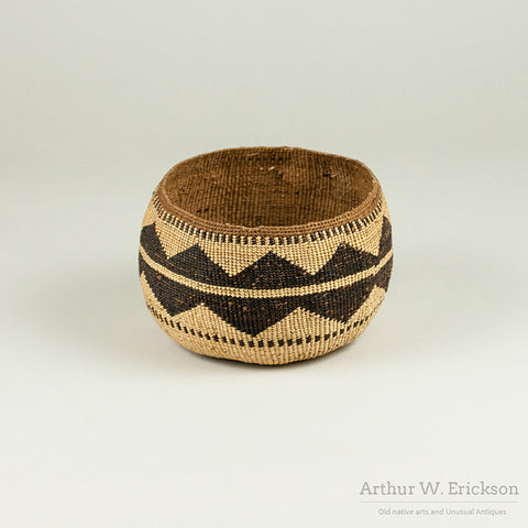 Lower Klamath River Basket - Arthur W. Erickson - 2