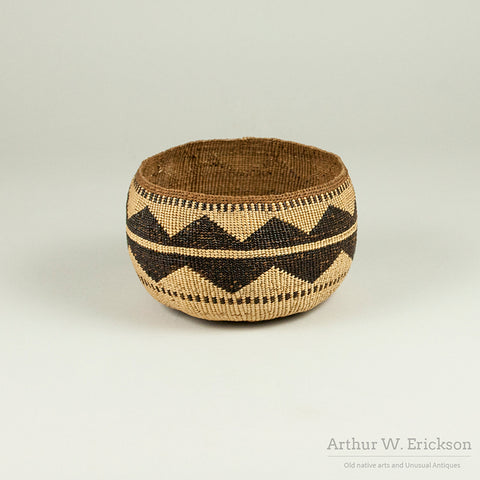 Lower Klamath River Basket - Arthur W. Erickson - 3
