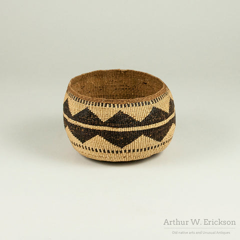 Lower Klamath River Basket - Arthur W. Erickson - 4