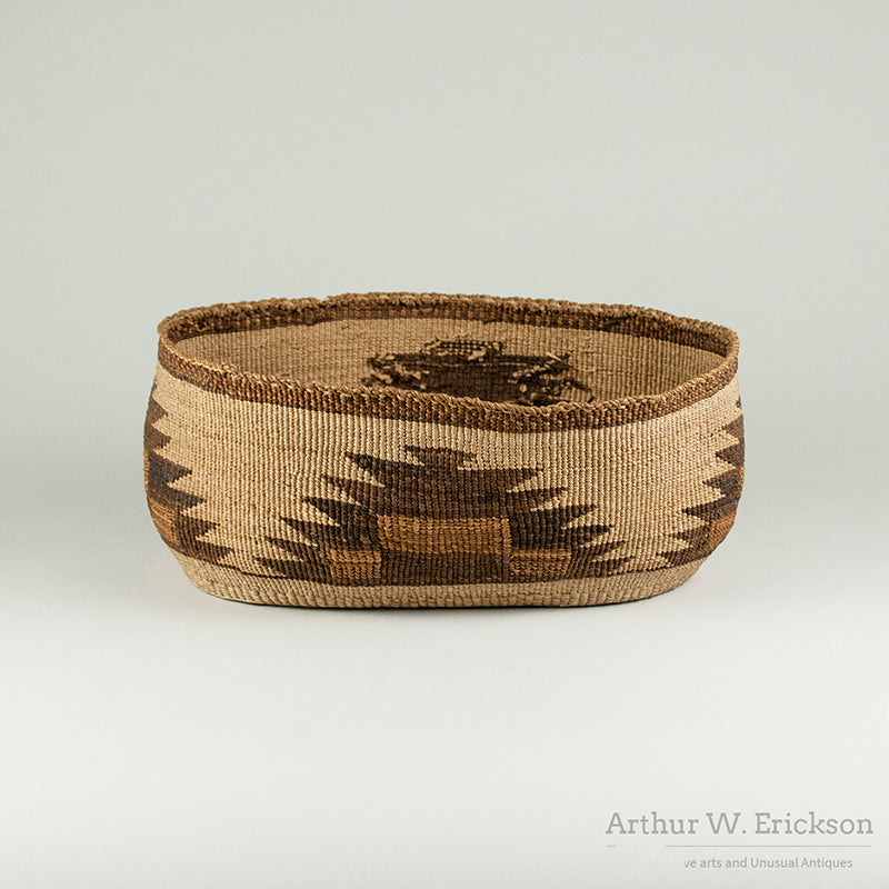Oval Klamath Basket