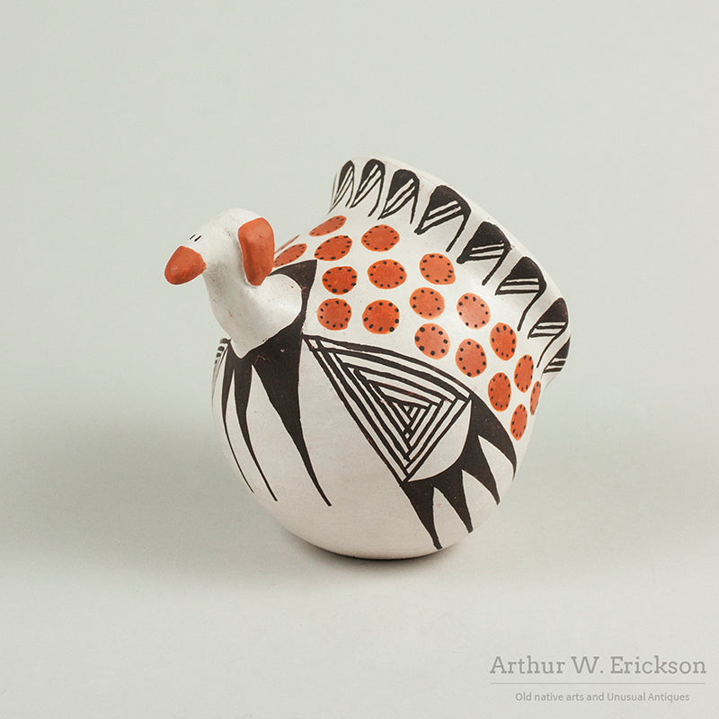 Lucy M Lewis Acoma Pottery Turkey