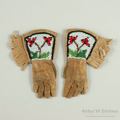 Miniature Plateau Beaded Gauntlets
