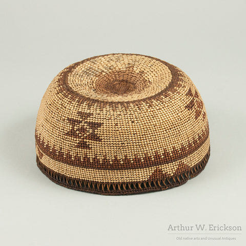 Northern California Basketry Hat