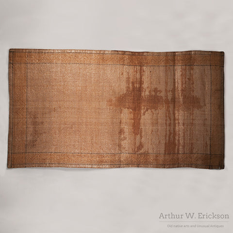 Northwest Coast Cedar Bark Mat