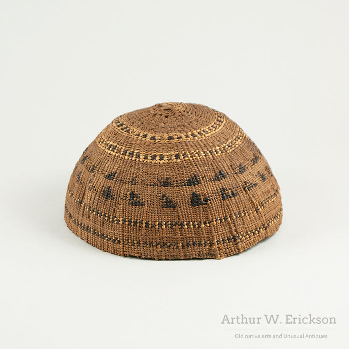 Tolowa Basketry Hat