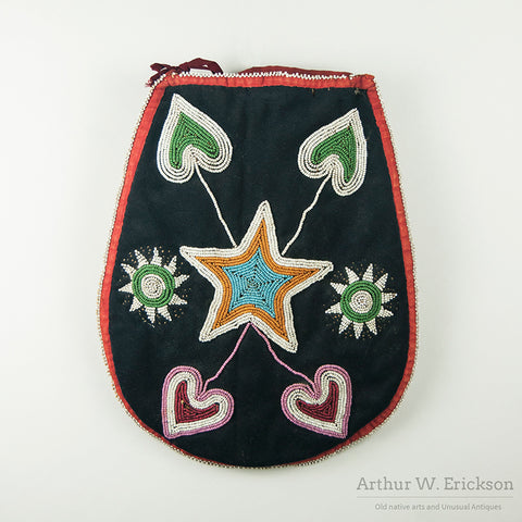 Early Plateau Beaded Flat Bag