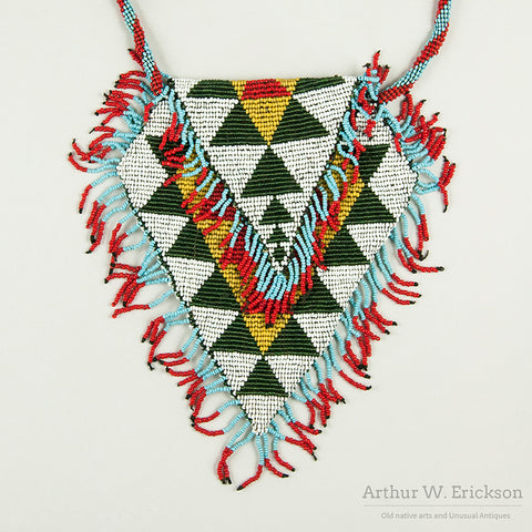 Pit River Loom Beaded Bag with Strap