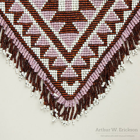 Pit River (Achumawi ) Beaded Bag