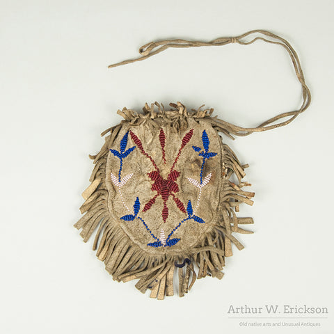 Plains Beaded Fringed Bag