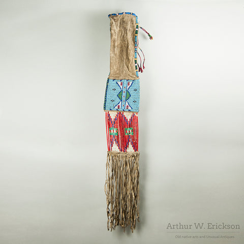 Plains Beaded Pipe Bag
