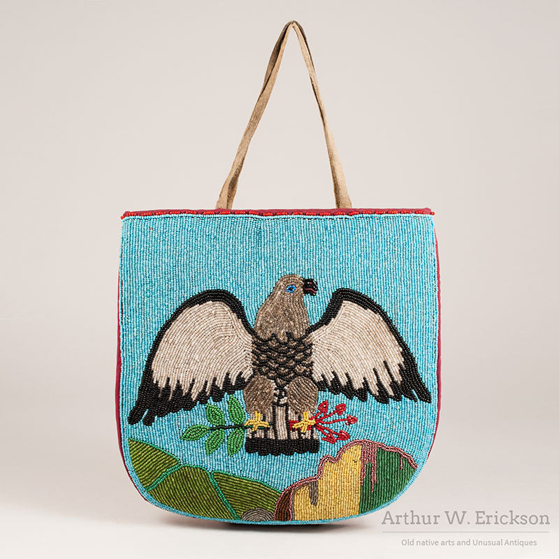 Plateau Beaded Eagle Bag