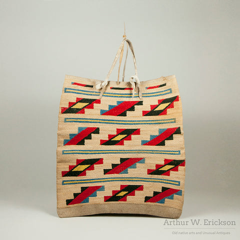 Plateau Corn Husk Bag