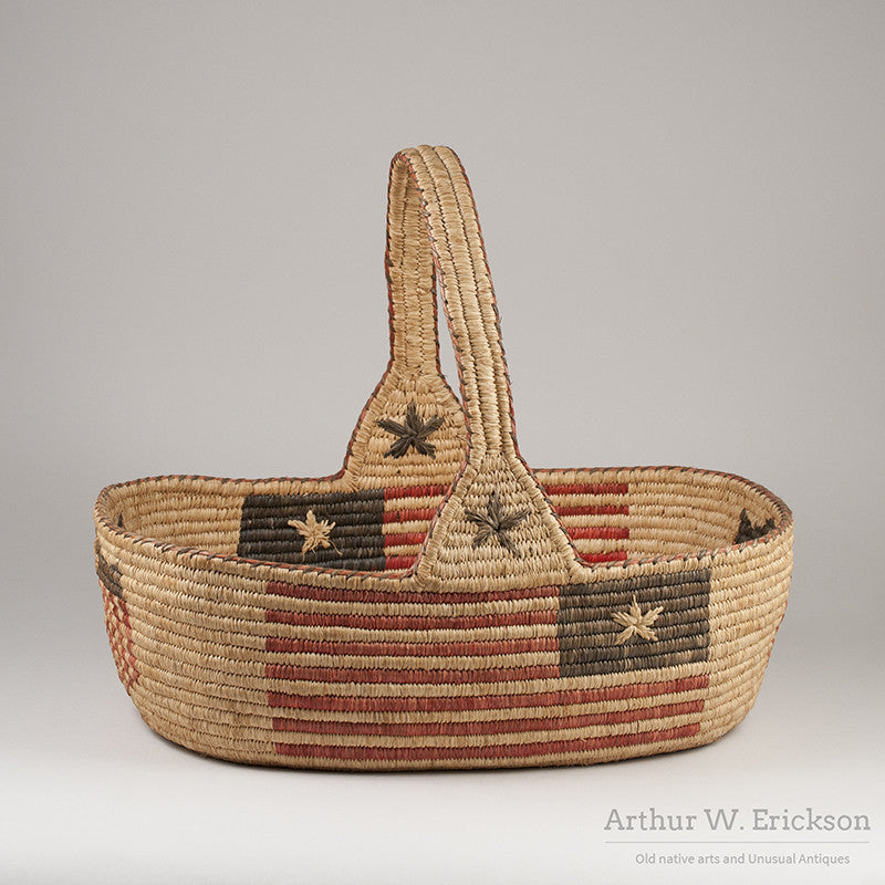 Quinault Patriotic 4th of July Basket - Arthur W. Erickson - 1