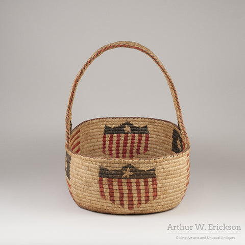 Quinault Patriotic 4th of July Basket - Arthur W. Erickson - 2