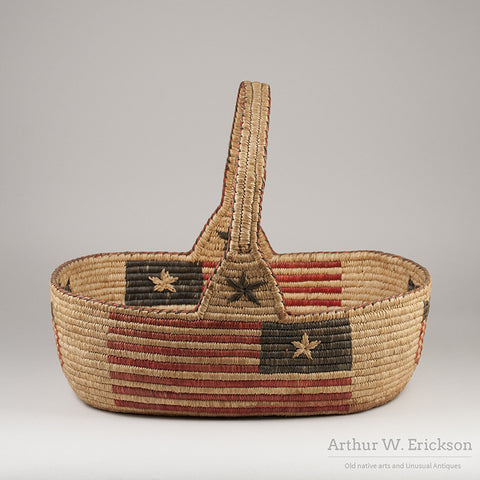 Quinault Patriotic 4th of July Basket - Arthur W. Erickson - 3